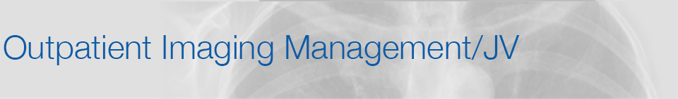 Outpatient Imaging Management / JV